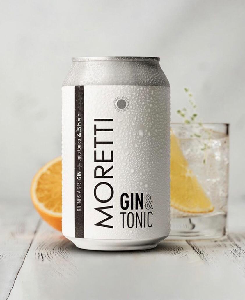 Moretti Gin & tonic