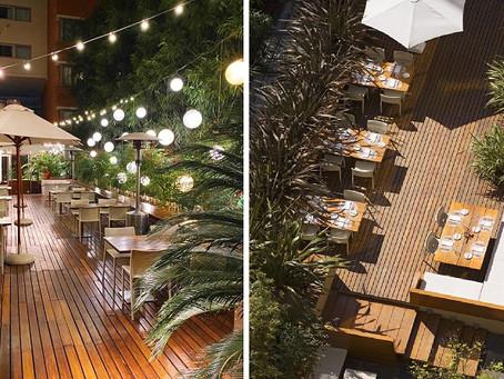 Reabre la terraza de Rëd Resto & Lounge del Hotel Madero