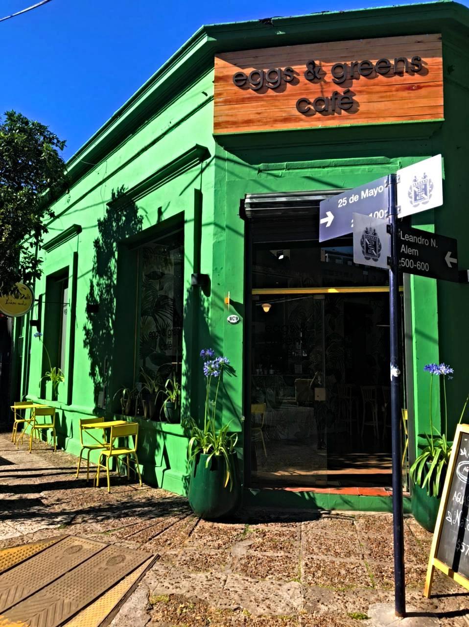 eggs & green cafe