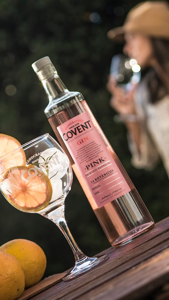 Covent Gin Pink