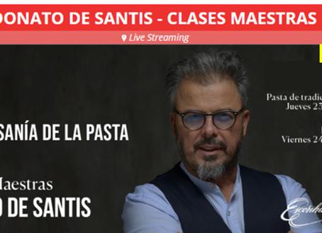 Los secretos de la pasta italiana develados por Donato de Santis