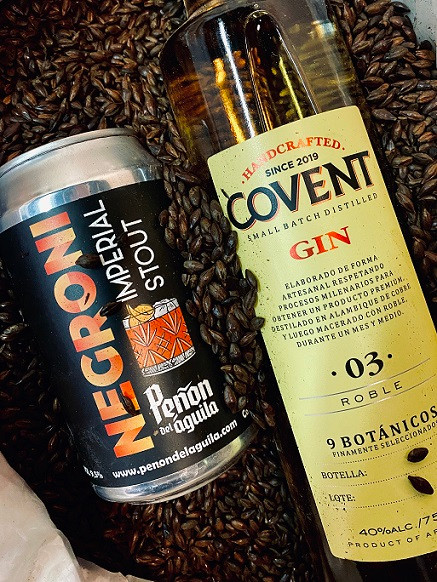 Negroni Imperial Stout y Covent Gin