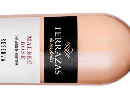 Terrazas: un refrescante y delicado rosado de Malbec