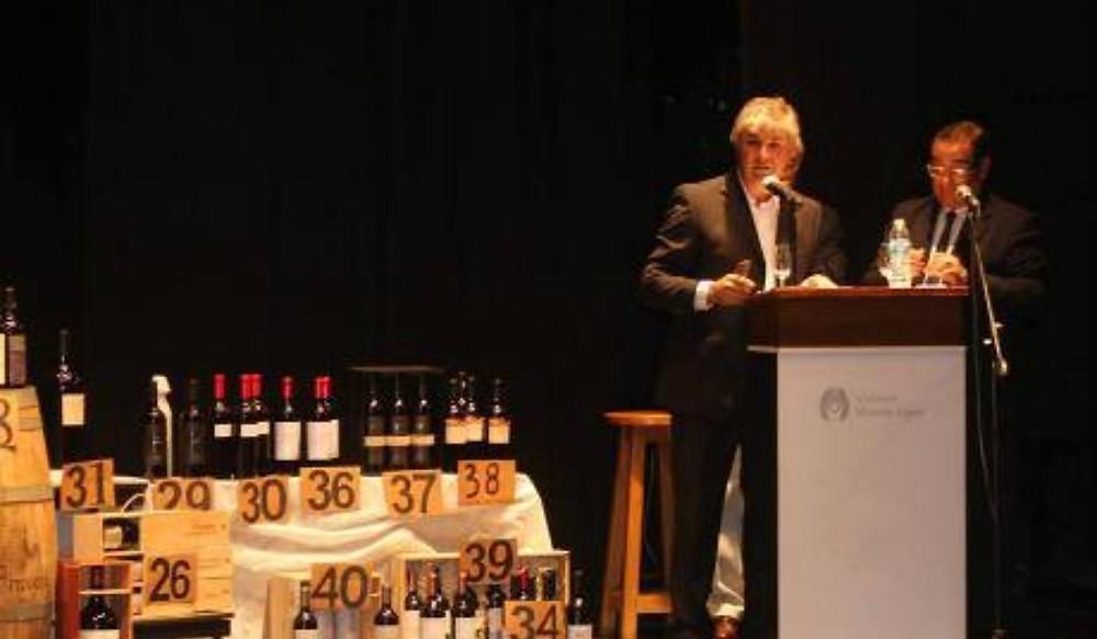 Subasta Solidaria de Vinos Argentinos