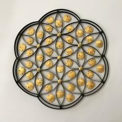 Metal Flower gold sd 2