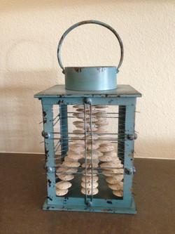 Medium Turqoise lantern