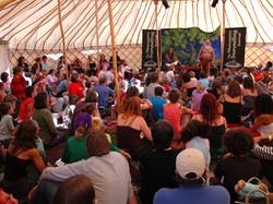Workshop Yurt