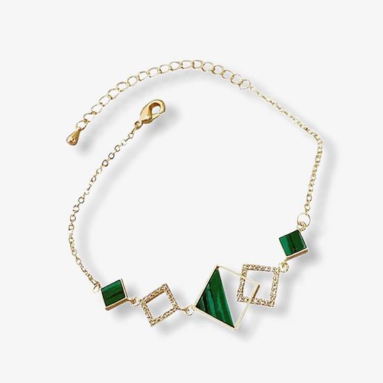 Bracelet Héméra, Métal Doré à l'or Fin