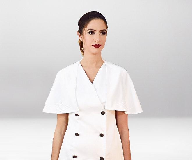 Robe Nona En Blanc   Robe Sur Mesure