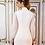 Robe Hind en Blanc  | HIND KROUSSA - Les Tendances 2021
