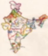 Itineraire Inde carte