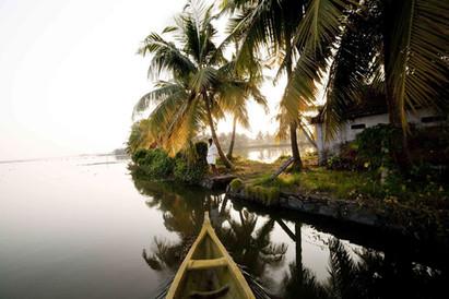Les Backwaters, Kérala