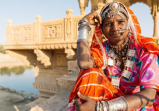 Femme Inde du Nord