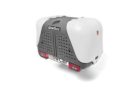 T2D000C TowBox V2 Gris Portaperros sobre
