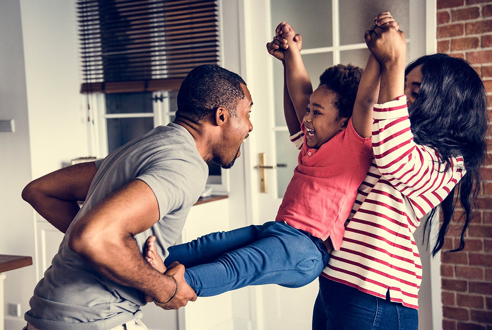 black-family-spending-happiness-time-tog