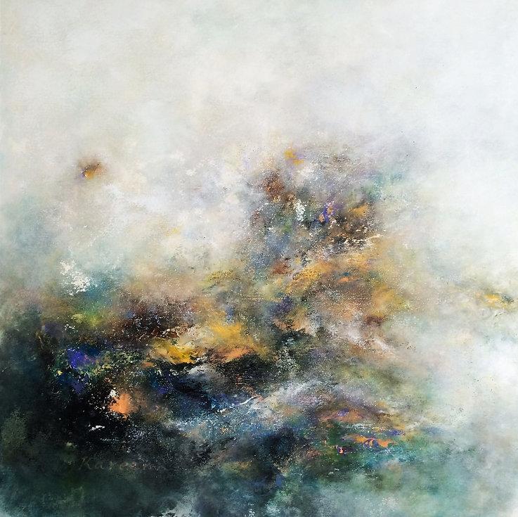 (13)  100x100  cm  Aclylic on canvas  .j