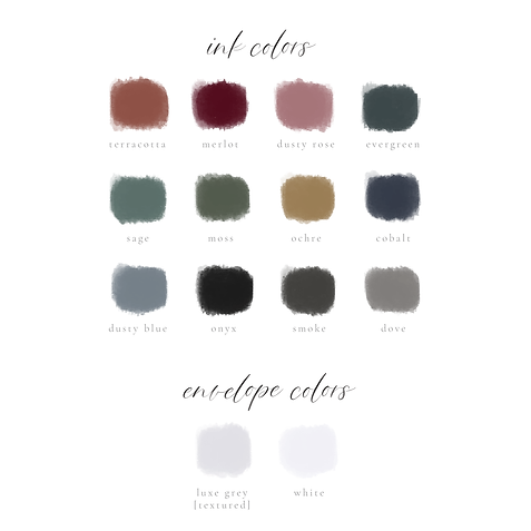 New Color Swatches-Semi-Custom Collectio