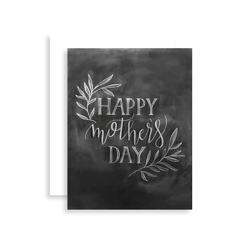 Happy Mother's Day Chalk Card