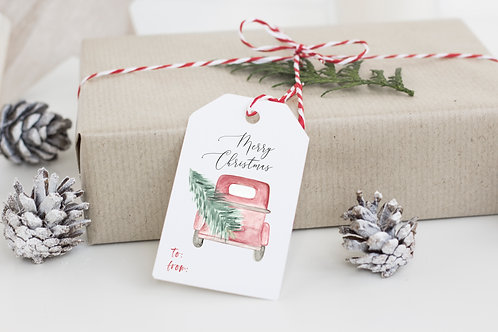 2019 Holiday Gift Tag Variety Set