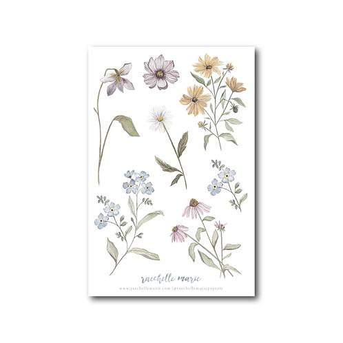 Wildflower Sticker Sheet