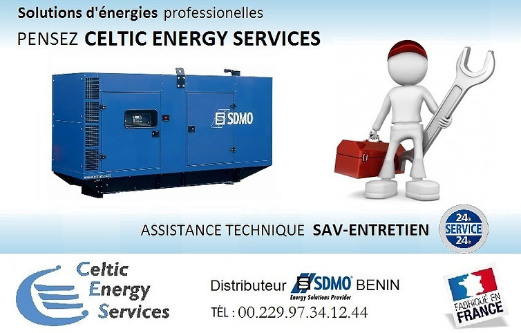SDMO, groupes, électrogène,électrogènes, benin, cotonou, installation, maintenance
