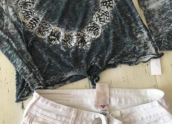 Short en jeans True religion