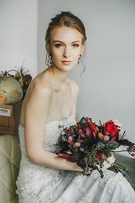 Timeless Bridal Makeup and hair