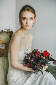 Timeless Bridal Makeup and hair