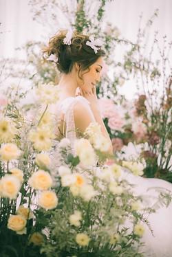 Fairytale Bridal Makeup and Hair