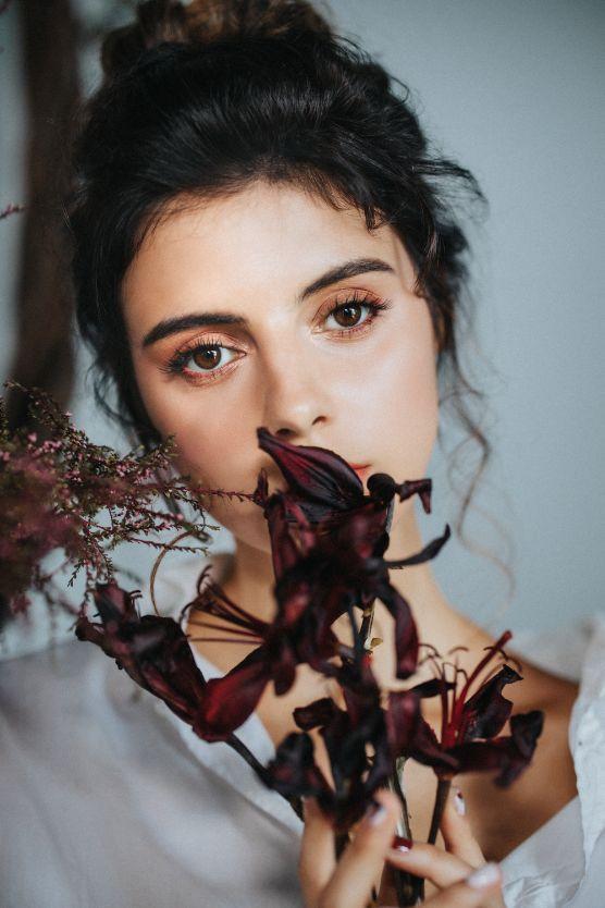 Natural Beauty Editorial Makeup