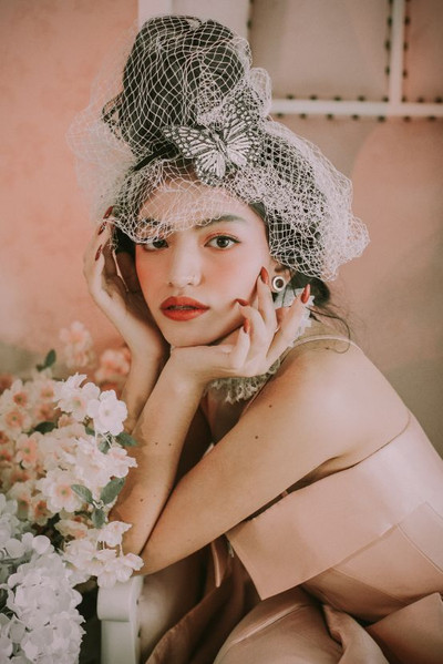 Marie Antonette Inspired Editorial Makeup
