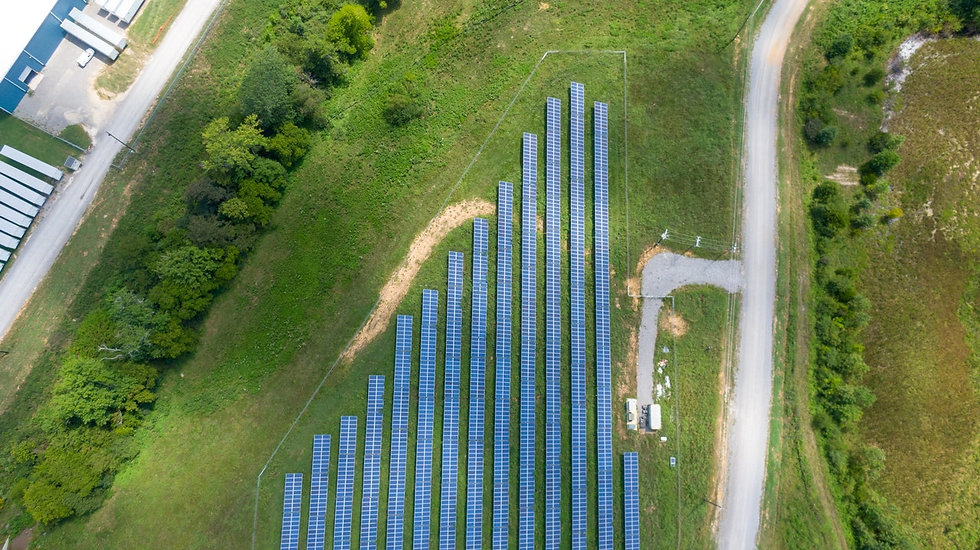 aerial-view-of-solar-panels-array-on-gre