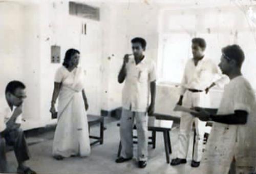 SG Murthy in Rehersals