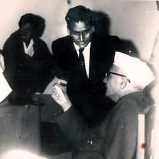 SG Murthy With President Of India