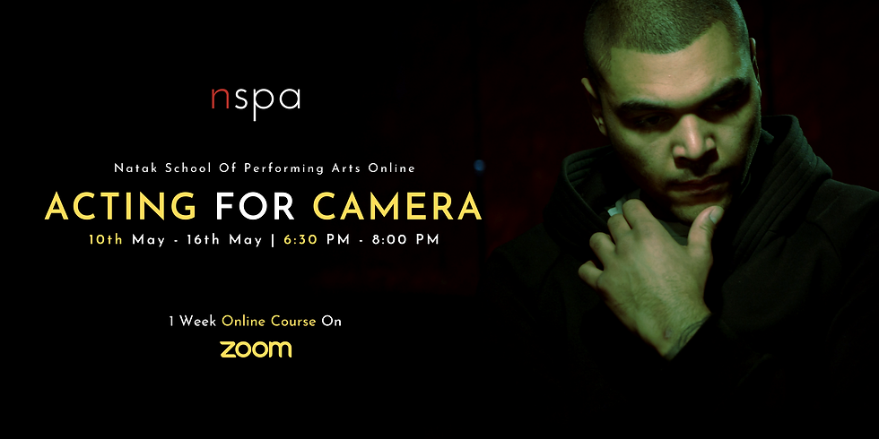 Acting For Camera 1 Week Intensive