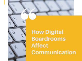 How Digital Boardrooms Affect Communication
