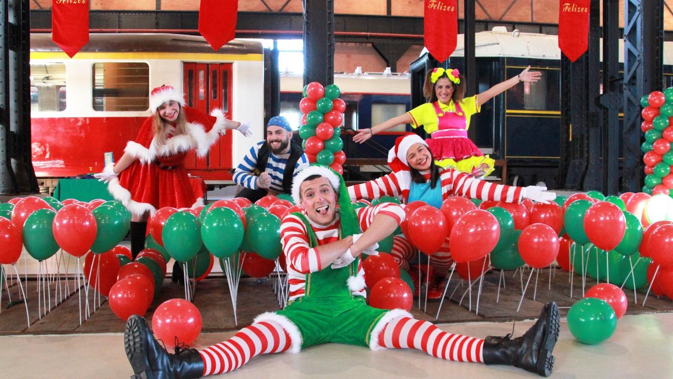 Animadores Festas Natal