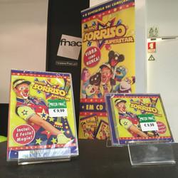 CD e Dvd palhaço Sorriso
