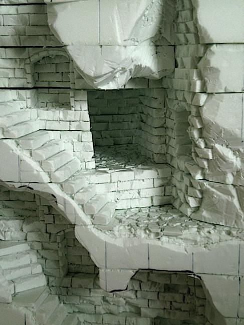 Ausarbeiten von Treppen, und Übergängen