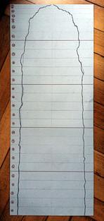 Schritt 1: Planungsskizze zu Plattenschichtung und Randverlauf