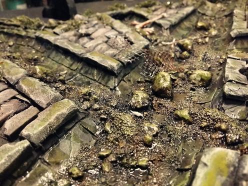 Fertigstellung der Bodenfläche: