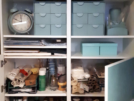Kleine Materialschau (1) -  Ein Rundgang durch die Bastelwerkstatt