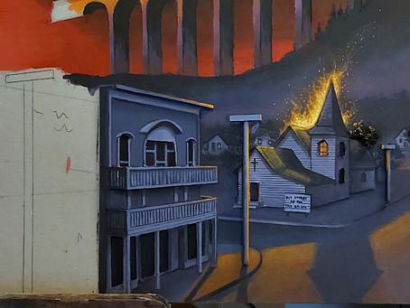 WIP - Needful Things: #7 Noch mehr gemalte Stadt