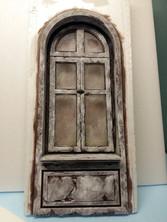 Bau des Fensters (kurze Rückwand)