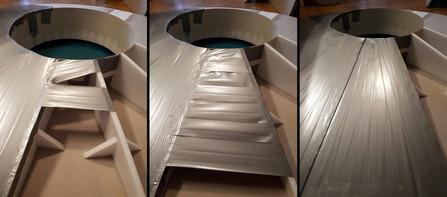 Bau der Basis-Platte/ des Drehtellers: