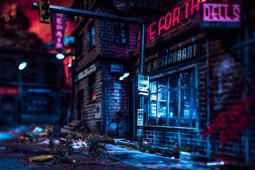 034 - Nightfall in the Lot (c) Kassiopeya 2019