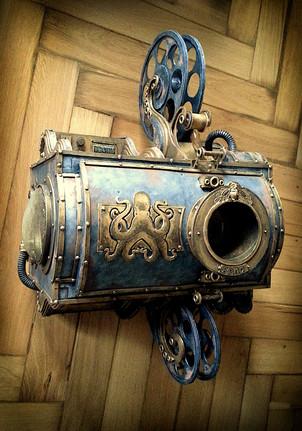 002 - Steampunk Beamer (c) Kassiopeya 2014