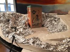 Creating the basic shape of the dump: