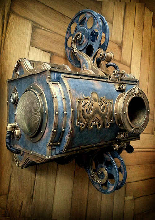 001 - Steampunk Beamer (c) Kassiopeya 2014