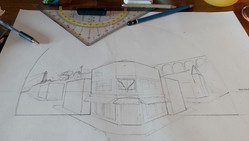 Sketches and preliminary drawings: